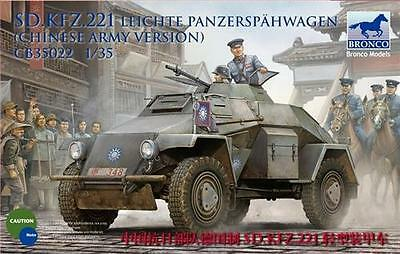 BRONCO CB35022 Sd.Kfz.221 Armored Car (Chinese Version) in 1:35