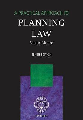 A Practical Approach to Planning Law by Victor Moore (Paperback, 2007)