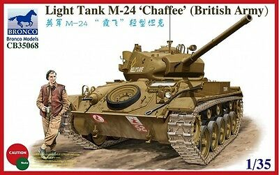 BRONCO CB35068 British Army Light Tank M-24 Chaffee in 1:35