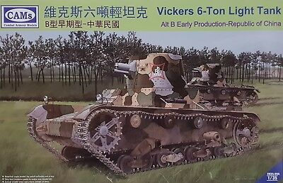 CAMs CV35-004 Vickers 6-ton Light Tank Alt B Early in 1:35