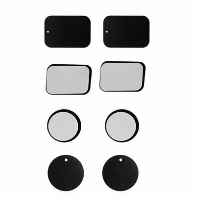 Metal Plate for Magnetic Car Phone Holder Mount Mobile Cell Disc Sat Nav GPS ZX