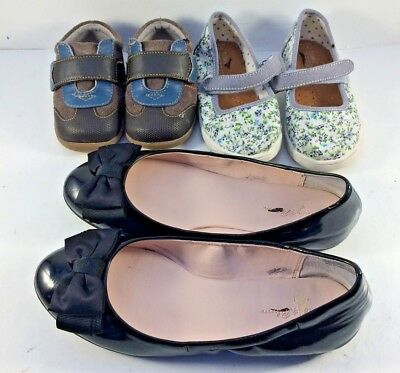 Lot of Three Pairs Kids & Toddlers Shoes Various Sizes $0.99 Sale
