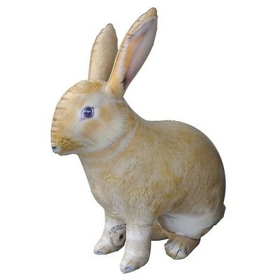 Inflatable Rabbit 30 inch Long Cute Animal Decoration Collection
