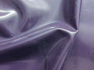 19cm Wide Strip Latex Rubber 0.20mm Thick Semi Transparent Mauve