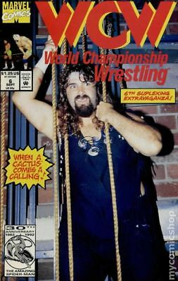 WCW World Championship Wrestling #6 1992 FN Stock Image