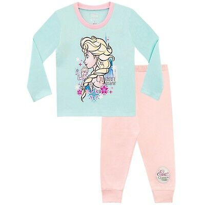 Girls Disney Frozen Pyjama Set | Disney Princess Pyjamas | Frozen PJs | NEW