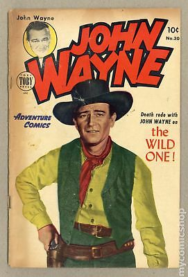 John Wayne Adventure Comics #30 1955 GD 2.0