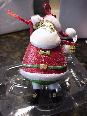 CHRISTMAS WITH THE CLAUSES DEPT.56  FULL OF SURPRISES Santa Clause Ornament