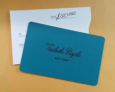 $50 Gift Card For Trailside Bicycle Company in Canfield, OH. SUPER DEAL!