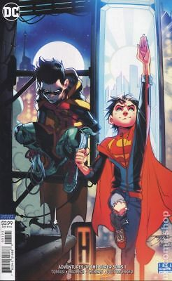 Adventures of the Super Sons (DC) 1B 2018 Jimenez Variant FN Stock Image
