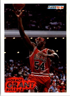1322af84c37 HORACE GRANT CHICAGO Bulls Game Worn and Signed Shoe - 3x NBA ...
