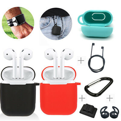 AirPods Silicone Case Cover Protective Skin for Phone Airpod Charging Case Hot