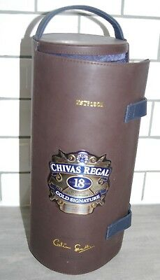 CHIVAS REGAL Blended Scotch Whisky Gold Signature 18 Years Leather Case