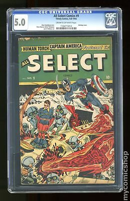 All-Select Comics #9 1945 CGC 5.0 1104715010