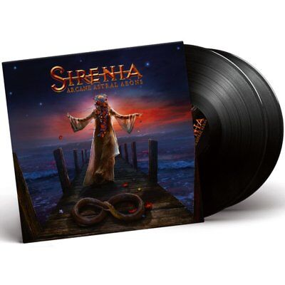 Sirenia - Arcane Astral Aeons 300 Copies 180g 2LP Black Vinyl NEU/OVP