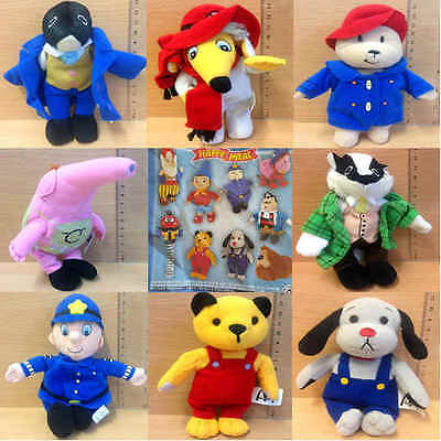 McDonalds Happy Meal Toy 2001 Favourite Childrens TV Plush Figures - Various