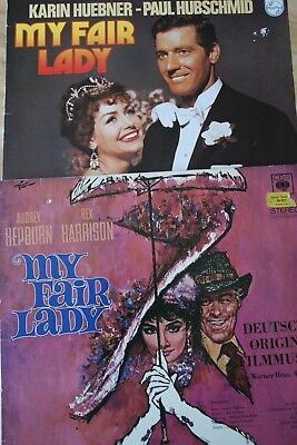 "Vinyl: Musical ""My fair Lady"" auf 2 LPs"