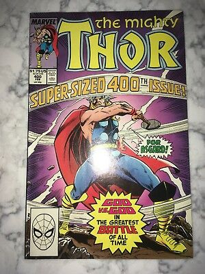 Thor (1st Series Journey Into Mystery) #400 1989 VF/NM & #402 Quicksand