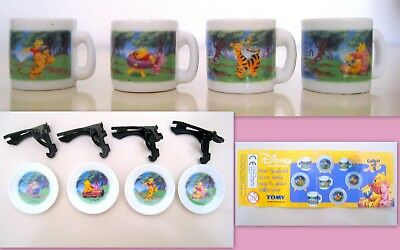 Tomy - Disney- Winnie The Pooh One Hundred Acre Wood Mug&plate Collection