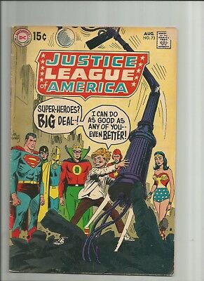 Justice League of America Issue #73 (DC, 1969)