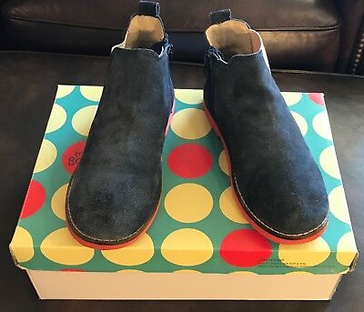 MINI BODEN Navy Suede Chelsea Boot, size 33 (US 2), VGUC