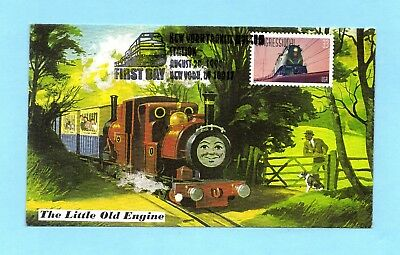 U.s. Fdc #3334 The Congressional From The Famous Trains Set