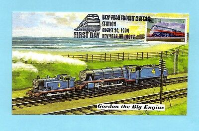 U.s. Fdc #3336 The Hiawatha From The Famous Trains Set