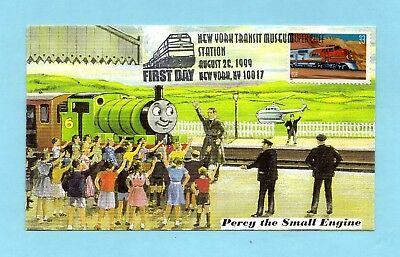 U.s. Fdc #3337 The Super Chief From The Famous Trains Set