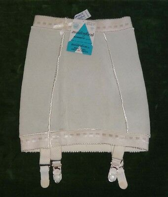 NOS with Tags VINTAGE Maidenform size small Girdle with GARTERS New Old Stock
