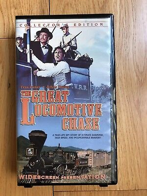 The Great Locomotive Chase VHS Video Tape Movie 2000