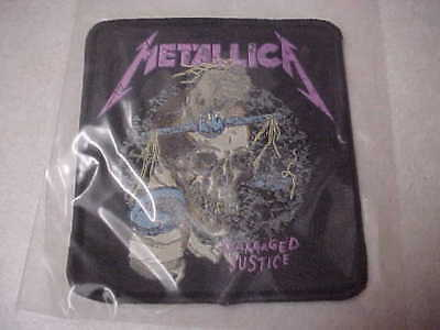 """Metallica """"And Justice For All"""" NEVER USED sew on patch...Brand NEW !!"""