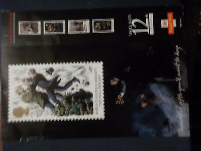 Royal Mail A4 Post Office Poster 1993 Sherlock Holmes Moriarty Final Problem