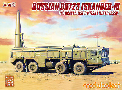 MODELCOLLECT UA72105 Russian 9K720 Iskander-M on MZKT Chassis in 1:72