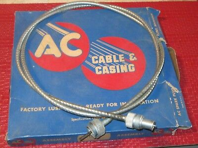 """Plastic Coated Housing 70/"""" length New Speedometer Cable 1937-1968 Chevrolet car"""
