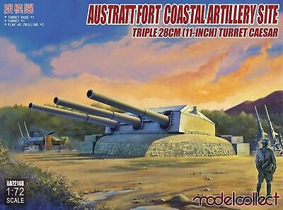 MODELCOLLECT UA72148 Austratt Fort Coastal Artillery Site in 1:72
