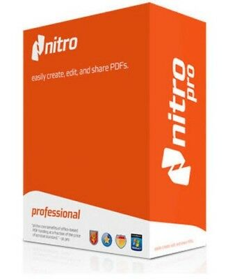 Nitro Pro 11 -PDF Viewer, Creator, Editor, Converter (Fast Delivery in one hour)