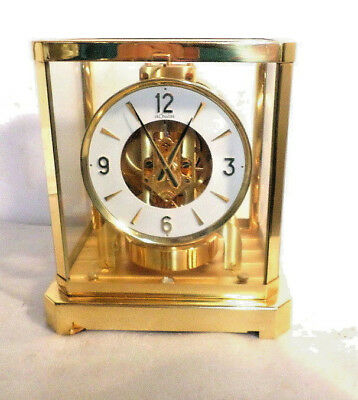 Jaeger Le Coultre Atmos Clock--Wonderful Physical Condition, #257003 & 2 Boxes!