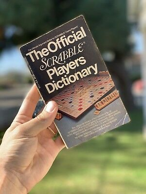 The Official Scrabble Players Dictionary 1977 Vintage