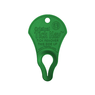 Original Tick Key - Tick Removal Device - Tick Remover - Tick Tool (Green)