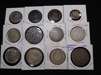 H18 World Better Misc. Japan Sweden Great Britain & more Mixed Group 12 pcs