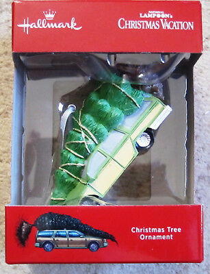 Hallmark 2018 Christmas Vacation Bringing home the tree ornament- Mint in Box !