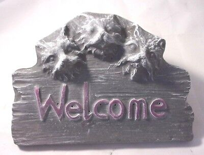 "Welcome Y/'all plaque mold for plaster concrete casting 11/"" x 5.5/"" x 3//4/"" thick"