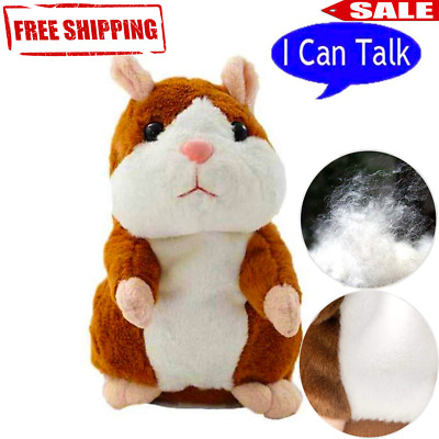 hamster talking gift toys pro Talking Repeats Voice Plush Funny Cheeky