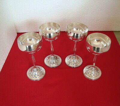 International 1847 Rogers Bros MARQUISE (6) Wine Goblets  #009175