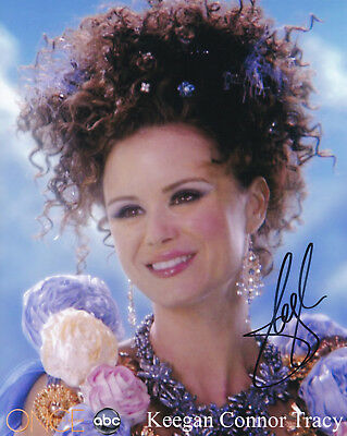 Autogramm 20x25cm KEEGAN CONNOR TRACY (Once Upon a Time) *handsigniert* COA