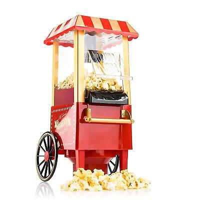 Gadgy ® Machine à Pop Corn/Retro Popcorn Maker/Air Chaud Sans Gras Huile pour le