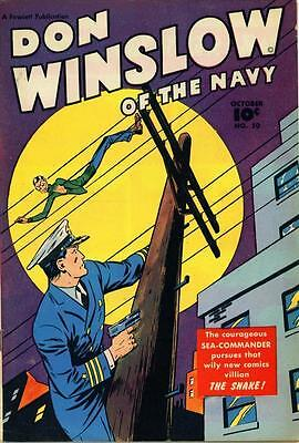 Don Winslow of the Navy #50 Photocopy Comic Book