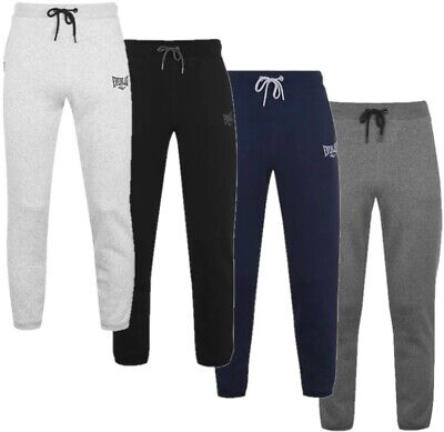 ✅ EVERLAST Herren Fleece lange Jogging Hose Sport Trainings Fitness Pants Chill