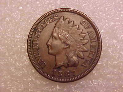 1887 Indian Head Cent nice original XF-AU **FREE US SHIP**