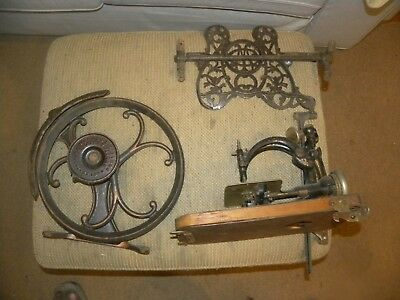 Antique Willcox & Gibbs Sewing Machine Parts Lot Mid to late 1800's
